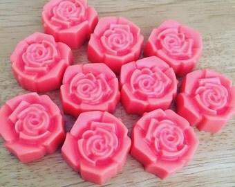Rose Shaped Melts