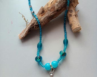 Necklace Sky Blue/Turquoise