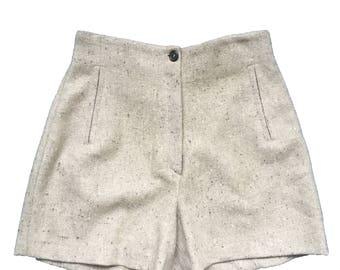 Marc Cain Highwaist Wool Shorts size 38
