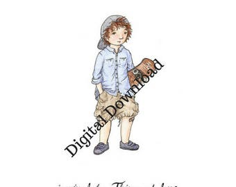 This Much Love Print - digital - hand drawn - Kids Book Club