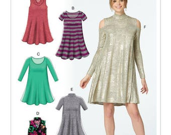 M7622 Mc Call's dress sewing pattern
