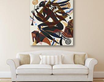 Acrylic Painting Erotic Art Acrylic Painting Abstract Painting Wall Art Original Painting Acrylic on Canvas Abstract  Art Acrylic
