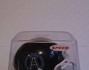 TORONTO ARGONAUTS Riddell Revolution Speed Mini Football Helmet CFL