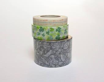 masking tape * motif végétal au choix * 5 ou 10 mètres