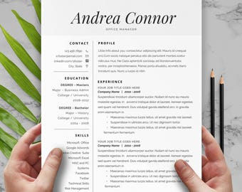 Transportation Resume Pdf Resume Cover Letter  Etsy Profile In A Resume Pdf with Flight Attendant Resume Word  Page Resume Resume Cover Letter Resume Template Cv Resume Template Cv Resume E