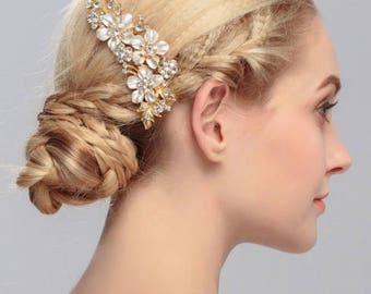 bridal comb, wedding comb, bridal hair piece, bridal hair jewelry, hair jewelry, wedding hair comb, wedding hair piece, crystal headpiece