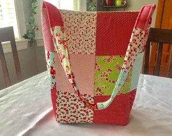 Little Ruby Patchwork Handbag