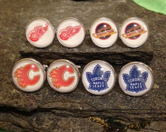 Hockey Cufflinks, Hockey Tie Clips, Hockey Tie Bars, Hockey Pins, Hockey Tie Tacks, Hockey Cuff Links, Hockey Lapel Pin