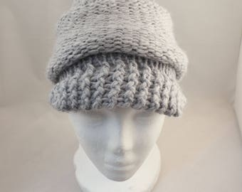 Hand knitted wool Cap