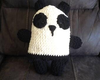 Crochet Stuffed Panda Animal