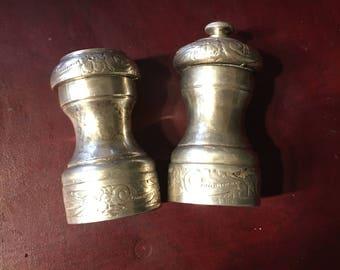 Salt and pepper mills Sterling Silver