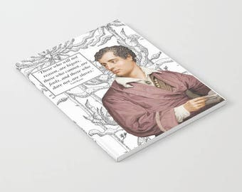 Lord Byron Notebook