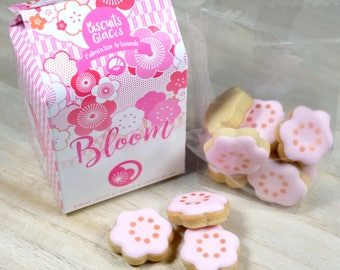 """1 box of biscuits flowers - Box """"Bloom"""""""