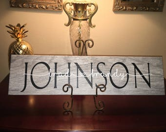 Personalized ceramic tile, family names, housewarming gift, wedding gift, custom made, faux wood, wall hanging, gift idea,