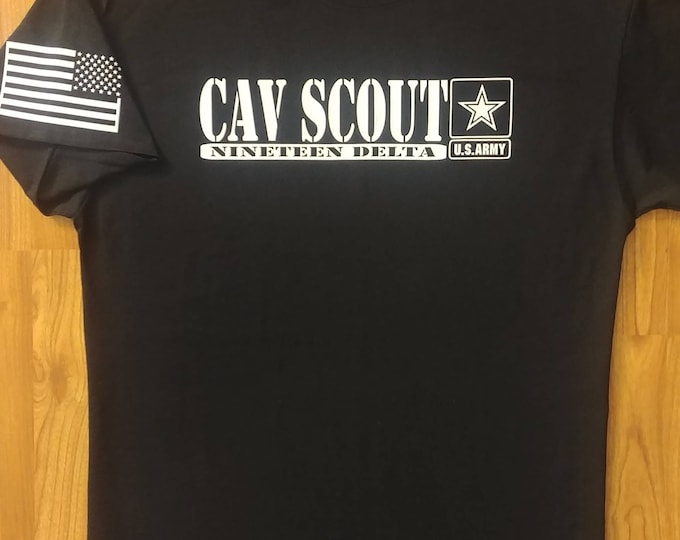 Army - Cavalry Scout - Mens Army Shirt - Womens Army Shirt - Army National Guard - Army Veteran - Cav Scout - Army Wife - US Army - Army Mom
