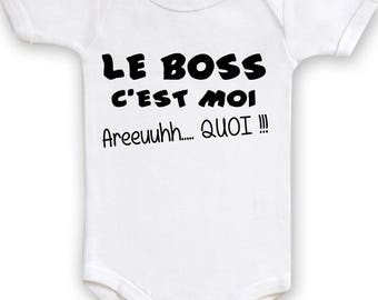 Boss Bodysuit is me areuh what! body birthstone gift idea, birthday, baptism.