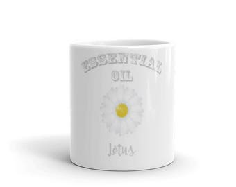 Essential Oil Lotus Mug