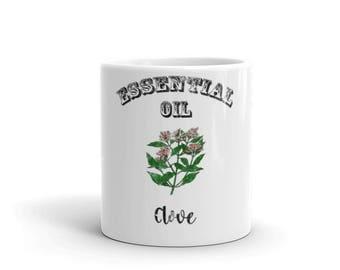 Essential Oil Clove Mug