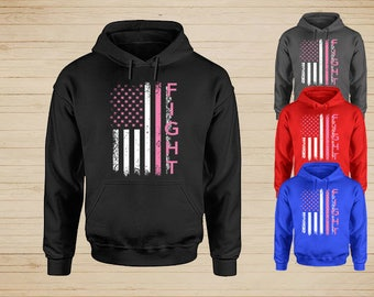 Fight Cancer Hoodie, Cancer Awareness Sweatshirts, Breast Cancer Awareness Hoodie, Cancer Awareness Sweatshirts, Fight Cancer Sweatshirt