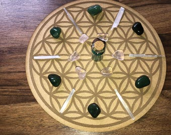 BeKindToYourself Crystal Grid
