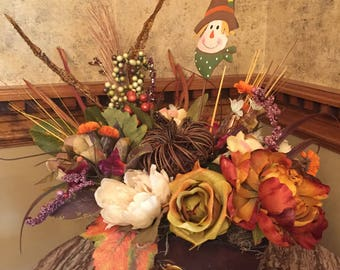 Fall Floral Centerpiece