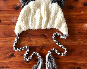 Chid's Fuzzy Animal Ear Hat