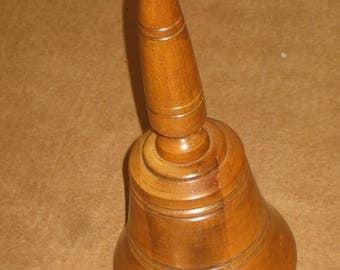 Wooden Music Box shaped as a Bell   [6560bt]