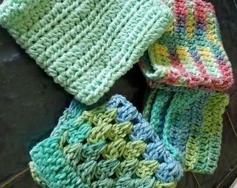 Soft cotton wash cloth