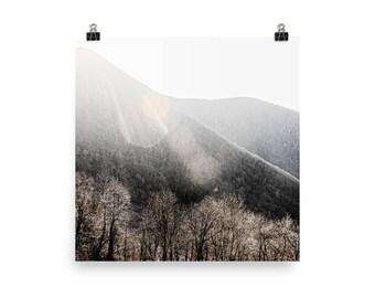 blue ridge mountains landscape print   nature photography