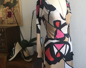 AUTHENTIC WRAP DRESS Diane Von Furstenberg