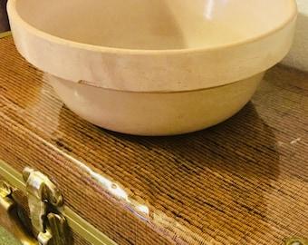 Primitive Mixing Bowl Stoneware