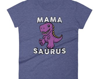 Mama Saurus Shirt - Mamasaurus, Gifts For Mom From Daughter Or Son For Christmas Or Birthday, Mom Gift Idea, Dinosaur Mom Shirt Mother's Day
