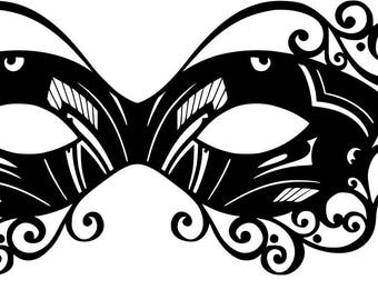 Masquerade Mask SVG Cutting file
