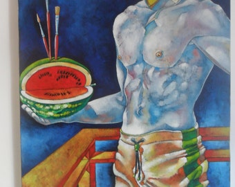 Canvas Painting, Original, Abstract Painting, Oriгginal Art, Acrylic Art, Large Abstract Art, Modern Art, Contemporary Home Decor