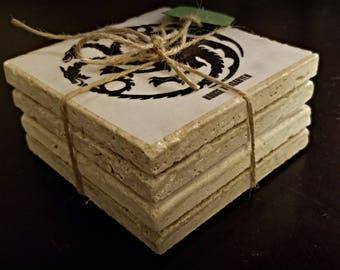 Game of Thrones Tile Coaster Set