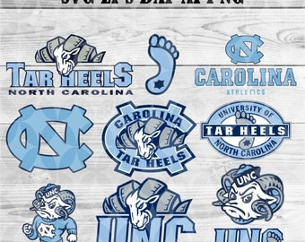 university of Carolina Tar Heels svg,team,logo,svg,png,eps,dxf,cricut,collegiate,ncaa,banner,shirt,Tar Hells Svg,decal,vinyl,football svg