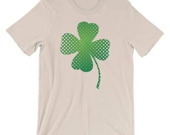 St Patrick's Day Clover Shamrock Ireland Shirt Irish Shirt Emerald Isles Gift Short-Sleeve Unisex T-Shirt