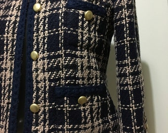 Boucle Couture  Chanel Style Jacket