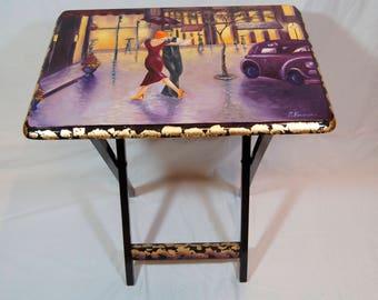 Folding Table (Dancing in the Rain)
