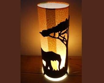 Child Savannah metal lamp