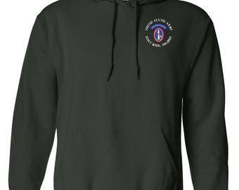 U.S. Army Honor Guard Embroidered Hooded Sweatshirt-7639