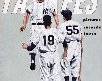 NEW YORK YANKEES - Vintage Baseball Poster