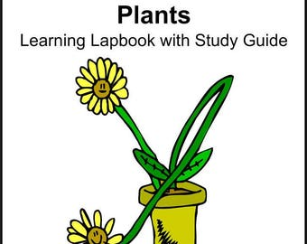Plants Lapbook Templates with Study Guide