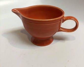Homer Laughlin Fiestaware Paprika Creamer Cup