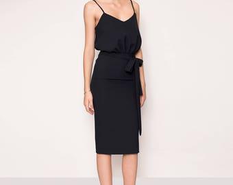 Minimal evening dresses