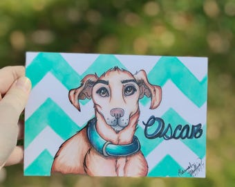 4x6 Pet portrait