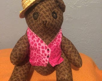 Personalized Teddy Bears-Homemade-Collectibles-Gifts for kids