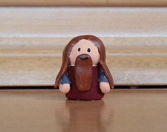 Gimli Clay Mini-figure / LOTR / Lord of the Rings