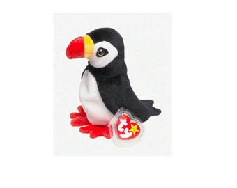 Ty Beanie Babies Puffer the Puffin 1997 Generation 5 Version 5
