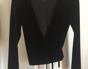 American Apparel Top - Black Velvet